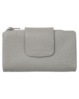 LIGHT GREY WOMENS ACCESSORIES STATUS ANXIETY PURSES + WALLETS - SA1273LIGRY