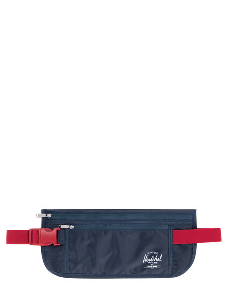 NAVY RED MENS ACCESSORIES HERSCHEL SUPPLY CO OTHER - 10532-00018-OSNVRD