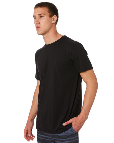 BLACK MENS CLOTHING SWELL TEES - S5164001BLK