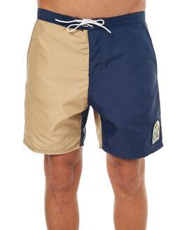 TAN NAVY MENS CLOTHING KATIN BOARDSHORTS - TRSSDOG17TANNVY