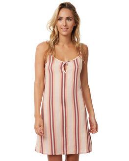 SUNDOWN STRIPE WOMENS CLOTHING THE HIDDEN WAY DRESSES - H8171458SDOWN