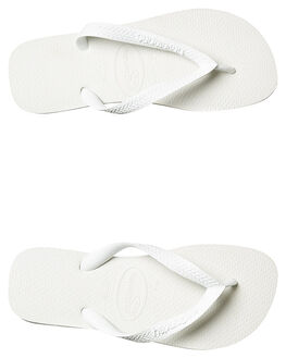 WHITE MENS FOOTWEAR HAVAIANAS THONGS - HTCT0001WHI