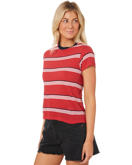 RED OUTLET WOMENS ROLLAS TEES - 12828RED