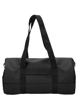 BLACK MENS ACCESSORIES RAINS BAGS - RNS1289BLK