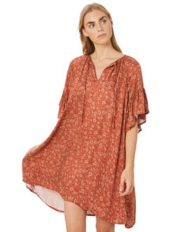 STEVIE FLORAL WOMENS CLOTHING THE HIDDEN WAY DRESSES - H8204443STVFL