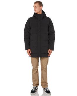 BLACK MENS CLOTHING PATAGONIA JACKETS - 27910BLK