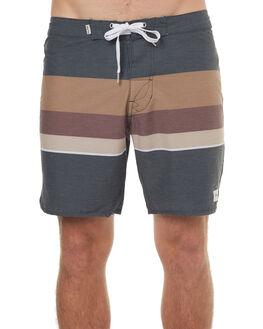 NAVY GOLD MENS CLOTHING RHYTHM BOARDSHORTS - JUL17-TR06-NAV