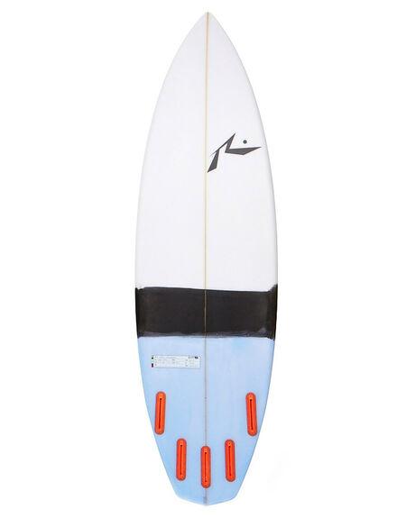 WHITE BLACK BOARDSPORTS SURF RUSTY SURFBOARDS - RUNEIL5WHBK