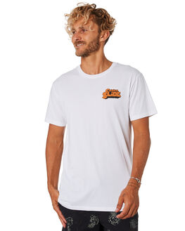 WHITE MENS CLOTHING THE CRITICAL SLIDE SOCIETY TEES - TE18123WHT