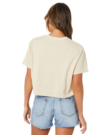 OATMEAL WOMENS CLOTHING RUSTY TEES - TTL1172OAT