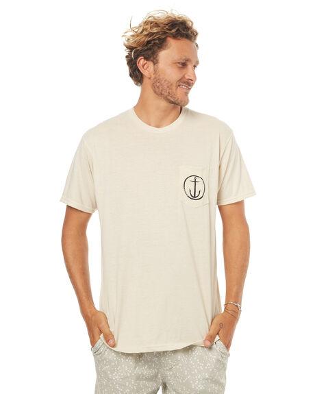 BONE MENS CLOTHING CAPTAIN FIN CO. TEES - CFM3231517BNE