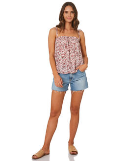 ROSE WOMENS CLOTHING THE HIDDEN WAY FASHION TOPS - H8201014ROSE
