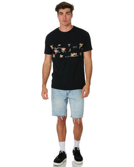 BLACK OUTLET MENS RIP CURL TEES - CTETX20090