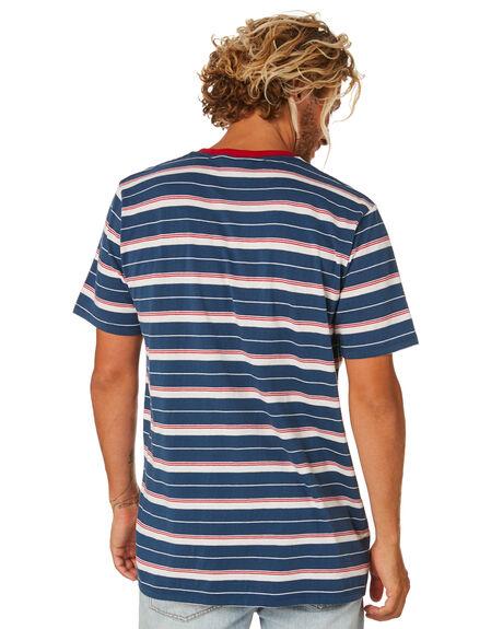 NAVY BLUE MENS CLOTHING DEPACTUS TEES - D5202015NAVY