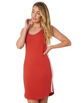 RED WOMENS CLOTHING SILENT THEORY DRESSES - 6022002RED