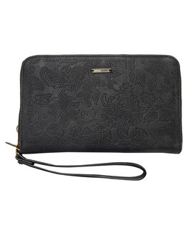 ANTHRACITE WOMENS ACCESSORIES ROXY PURSES + WALLETS - ERJAA03374KVJ0