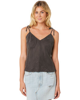 CHARCOAL WOMENS CLOTHING TIGERLILY FASHION TOPS - T395032CHA