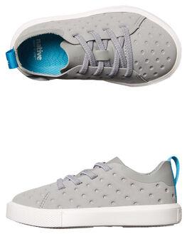 PIGEON GREY WHITE KIDS TODDLER BOYS NATIVE FOOTWEAR - 23104214-1501