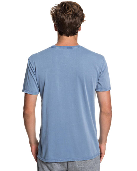 STONE WASH MENS CLOTHING QUIKSILVER TEES - EQYZT05213-BKJ0