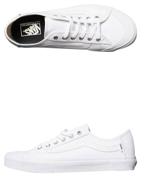610b81d7611f8a Vans Black Ball Sf Shoe - White White