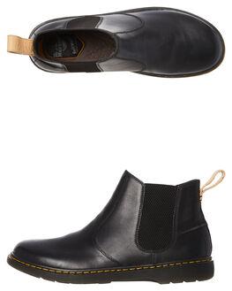 BLACK MENS FOOTWEAR DR. MARTENS BOOTS - SS23946001BLKM