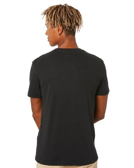 BLACK MENS CLOTHING RIP CURL TEES - CTEOS90090
