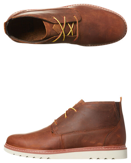 BROWN MENS FOOTWEAR REEF BOOTS - A3627BRO