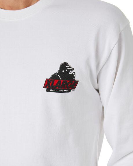 WHITE MENS CLOTHING XLARGE TEES - XL003004WHT