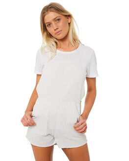 STONE OUTLET WOMENS RVCA PLAYSUITS + OVERALLS - R282755STONE