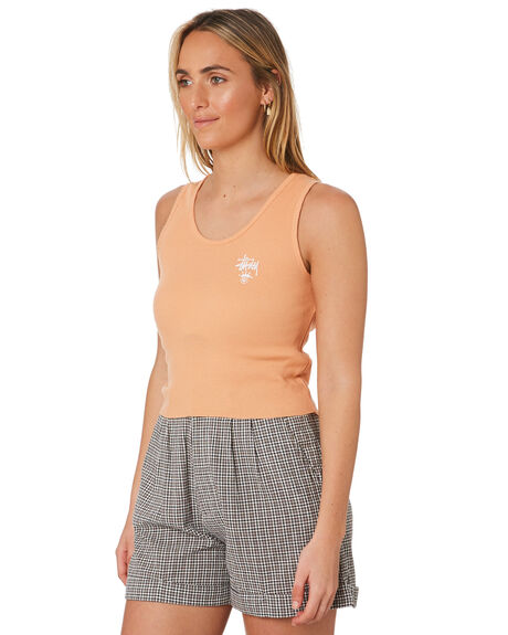APRICOT WOMENS CLOTHING STUSSY SINGLETS - ST193206APR