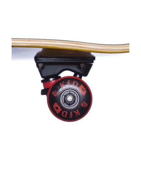 YELLOW BOARDSPORTS SKATE KFD SKATEBOARDS COMPLETES - CYG-BAD-YE