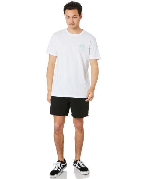 WHITE MENS CLOTHING RUSTY TEES - TTM2493WHT