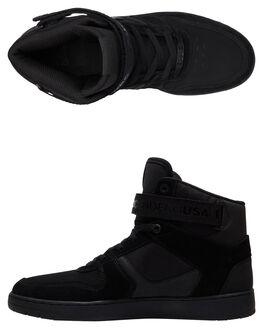 BLACK BLACK BLACK MENS FOOTWEAR DC SHOES SNEAKERS - ADYS400038-3BK