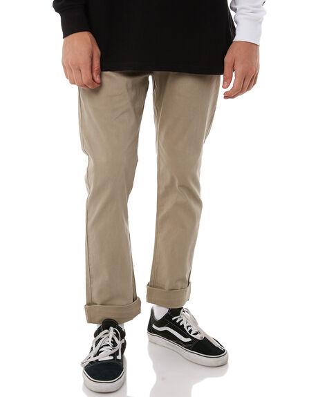 KHAKI MENS CLOTHING BILLABONG PANTS - 9585303KHA