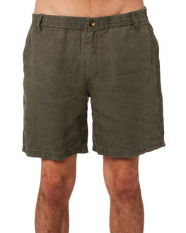 DUSTY OLIVE MENS CLOTHING AFENDS SHORTS - M183357DUSOLV