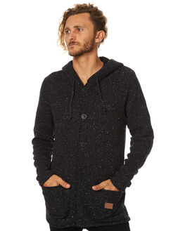 BLACK MENS CLOTHING RIP CURL KNITS + CARDIGANS - CSWDB10090