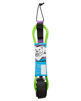 GREEN PURPLE BOARDSPORTS SURF CATCH SURF LEASHES - BLEASH-8FTGNPR
