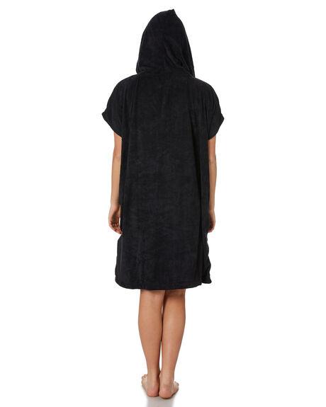 BLACK WOMENS ACCESSORIES RIP CURL TOWELS - GTWFM10090