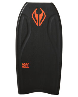 BLACK FLURO RED BOARDSPORTS SURF NMD BODYBOARDS BOARDS - N19THREE41BLBLKFR