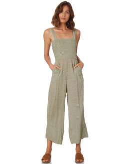 KHAKI MICRO SUN WOMENS CLOTHING RUE STIIC PLAYSUITS + OVERALLS - WS18-01-KS-YKHA