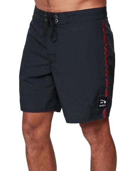 BLACK MENS CLOTHING RVCA BOARDSHORTS - RV-R307405-BLK