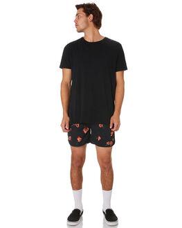 BLACK MENS CLOTHING INSIGHT BOARDSHORTS - 5000004612BLK