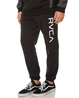 BLACK MENS CLOTHING RVCA PANTS - R371155BLK