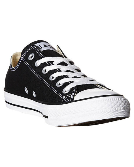BLACK WOMENS FOOTWEAR CONVERSE SNEAKERS - SS19166BLKW