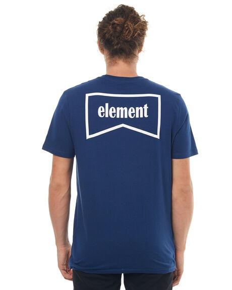 LIGHT NAVY MENS CLOTHING ELEMENT TEES - 174014LNVY
