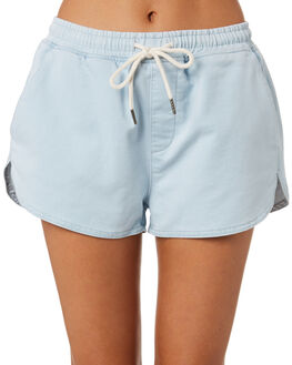 LIGHT BLUE OUTLET WOMENS SILENT THEORY SHORTS - 6015009LTBLU