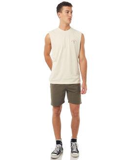OLIVE MENS CLOTHING THRILLS SHORTS - TS7-317FOLI