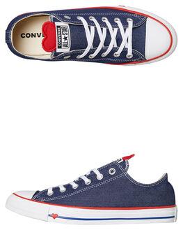 INDIGO WOMENS FOOTWEAR CONVERSE SNEAKERS - 163308IND