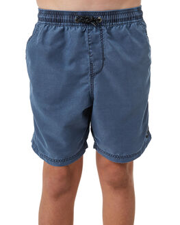 DENIM BLUE KIDS BOYS BILLABONG BOARDSHORTS - 8572439DBLUE