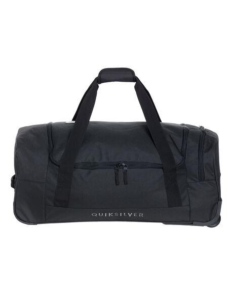BLACK MENS ACCESSORIES QUIKSILVER BAGS + BACKPACKS - EQYBL03177-KVJ0